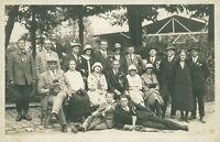 Ansichtskarte Baden-Baden Personengruppe 1926 Schützenfest (siehe Anm.Art.beschr