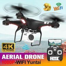 Faltbar WiFi FPV Drohne mit 1080P HD Kamera Selfie RC Quadrocopter Drone 3x Akku