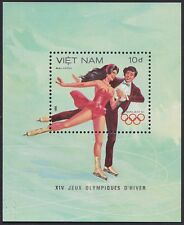 VIETNAM Bloc N°11** Bf JO Patinage,1984 Vietnam Olympic figure skating Sheet MNH