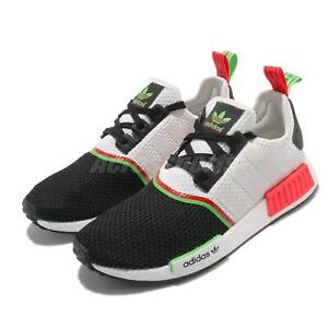 adidas Originals NMD_R1 BOOST White Green Men Unisex Casual Lifestyle FY2425