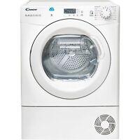 Candy CSH8A2LE-80/ 8kg Freestanding Heat Pump Tumble Dryer - White