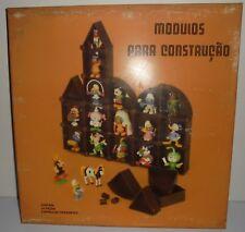 Vintage MAIA BORGES BOX DISPLAY FIGURES - MUPPETS / SMURFS / SNORKLES / YAKARI