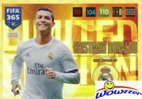 2017 Panini Adrenalyn XL FIFA 365 EXCLUSIVE Christiano Ronaldo Limited Edition