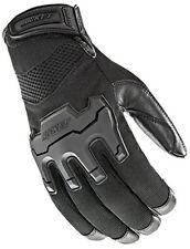 Joe Rocket Eclipse Textile Leather Motorcycle Gloves Street Riding Touch Screen