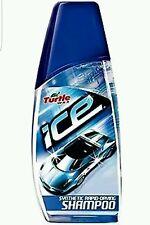 TURTLE WAX ICE 2 x 500ml RAPID FAST DRYING SHAMPOO CAR SHINE CLEANER CLEANING 👍
