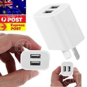 5V 2A Universal Travel Dual USB Wall Charger Power Adapter AU Plug Phone AC
