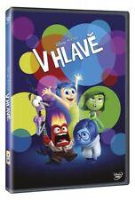 V hlave (Inside Out) DVD 2015 Czech and Slovak audio version