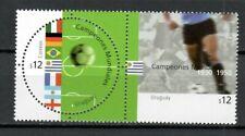 S33892 Uruguay MNH 2002 Wc Football 2v Joint Issue Fra Ger Soutien-Gorge Ita Arg