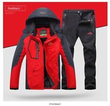 Winter Ski Suit for Men Fleece Warm Windproof Waterproof Skiing Suits