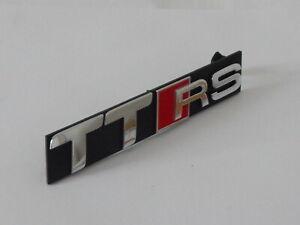 New Genuine Audi TTRS Front Main Grille TTRS Emblem In Chrome 8J0853736D 2ZZ