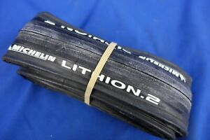 New Michelin Lithion 2 Clincher Road Bike Tire - 700 x 23c - Grey