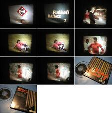 8 mm Film,Trickfilm:Fußball Ballett 2 Tonfilm Super 8mm-Antique Comedy Films