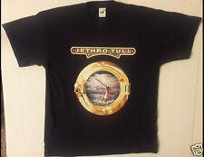 JETHRO TULL Size Large Black T-Shirt (A)