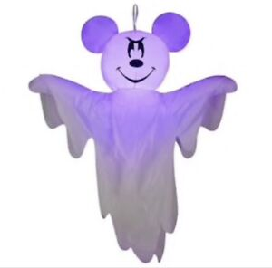Gemmy 4 FT Disney Mickey Mouse Ghost Airblown Inflatable New