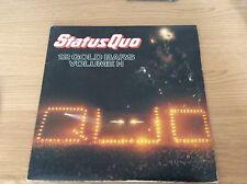 """Status Quo : 12 golden Bars vol 1.1, 12""""vinyl double LP 1984, vgc"""