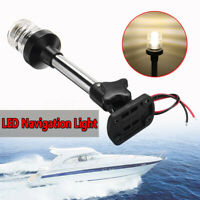 Marine Boat Yacht Light LED Anchor Navigation Lamp Fold Down Anchor Lights #!