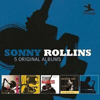 Sonny Rollins.5 Original Albums CD NEW Worktime Moving Out Saxophone Colossus