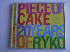Mojo presents Piece of Cake - 20 Years of Ryko. CD Album. (L07)