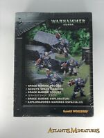 Sealed Space Marine Scouts - OOP - Rare - Warhammer 40K N177