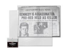 1 Pack of 100 Newspaper Sleeves Bags Protectors 13x11 BCW Archival Acid