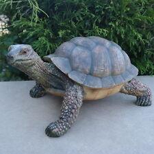 Dekofigur Schildkröte Tierfigur Geschenk Reptil Panzer Figur