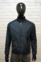 Giubbotto DONDUP Uomo Taglia Size M Giubbino Jacket Man Giacca Nylon Blu Jacke