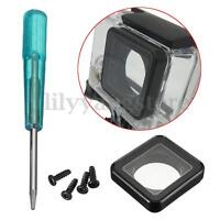 Waterproof Cover Lens Housing Protecting Replacement Kit Set For Gopro Hero 3+ 4