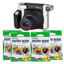 Fujifilm Instax Wide 300 Instant Camera + Fuji Wide Film 8 Pack 80 Sheet Photo