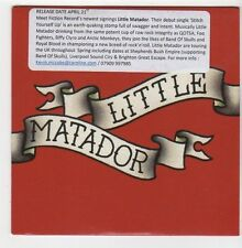 (EZ943) Little Matador, Stitch Yourself Up - 2014 DJ CD