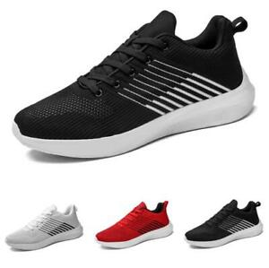 Men's Fashion Sneakers Shoes Trail Running Sports Lace up Gym Jogging Sports D