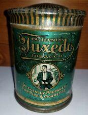 Tuxedo Tobacco tin with dome top, smaller size