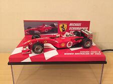 1/43 Ferrari F2001 B M Schumacher Winner Australian GP 2001