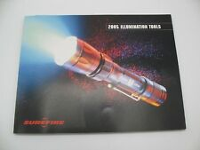 SureFire Products 2005 Illumination Tools CATALOG Flashlight G2 6P C3 Z2 E1E E2E