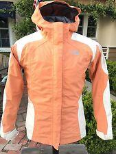 The North Face Hyvent Jacket Girsl XL Women Small ST# T150 T550 AR7K Salmon Gray