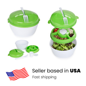 Salad food storage container To Go  BPA-Free Lunch Box