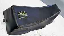 YAMAHA banshee 350 GRIPPER seat cover  yellow STICHING screw it logo