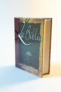 Biblia Traducción Lenguaje Actual, Pequeña, Pasta Dura, Letra 8 Puntos NUEVA #57