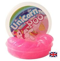 Unicorn Poo Pink Putty Squishy Slime - Girl's Stocking Filler - UK Family Seller