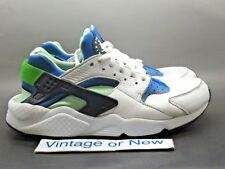 Nike Air Huarache Run Scream Green Running Shoes 2014 sz 10