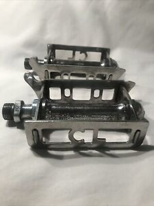 Vintage Chater Lea Tommy Bar Pedals Bates Hetchins Gillot British Eroica Nice!