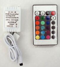 SKYFIELD 24 Taste IR Controller für LED RGB Leiste