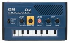 Korg Monotron Duo Analogue Ribbon Synthesizer Analog Synth Featuring X-Mod F/S