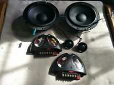"Morel Hybrid Ovation 6"" woofer, MT12 Tweeter, MX20-4.5.6 Crossover speaker set"