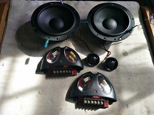 """Morel Hybrid Ovation 6"""" woofer, MT12 Tweeter, MX20-4.5.6 Crossover speaker set"""