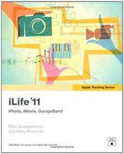 iLife 11: iPhoto, iMovie, GarageBand (Apple Training Series) by Dion Scoppettuo
