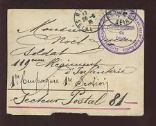 WW1 POW COVER FRANCE 1916...GRAND AULNAY CAMP