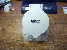 CEE form 32A , 7 hole connector.  250V New ceeform