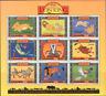 Uganda 1994 DISNEY Animated Lion King/Cinema/Film/Birds/Monkey 9v sht 1 n15718