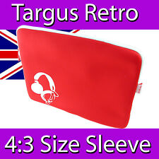 TARGUS RETRO RED LAPTOP SKIN SLEEVE POUCH BAG NOTEBOOK NEOPRENE FULL SIZE