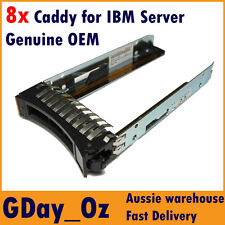 "8x 2.5"" IBM Server HDD Caddy Tray Sled 44T2216 for System x and BladeCenter"